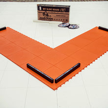 Load image into Gallery viewer, Adjustable Sliding Board - Indoor and Outdoor Training Tiles with Stoppers, Booties, Rubber Mat & App - MY SLIDEBOARD PRO