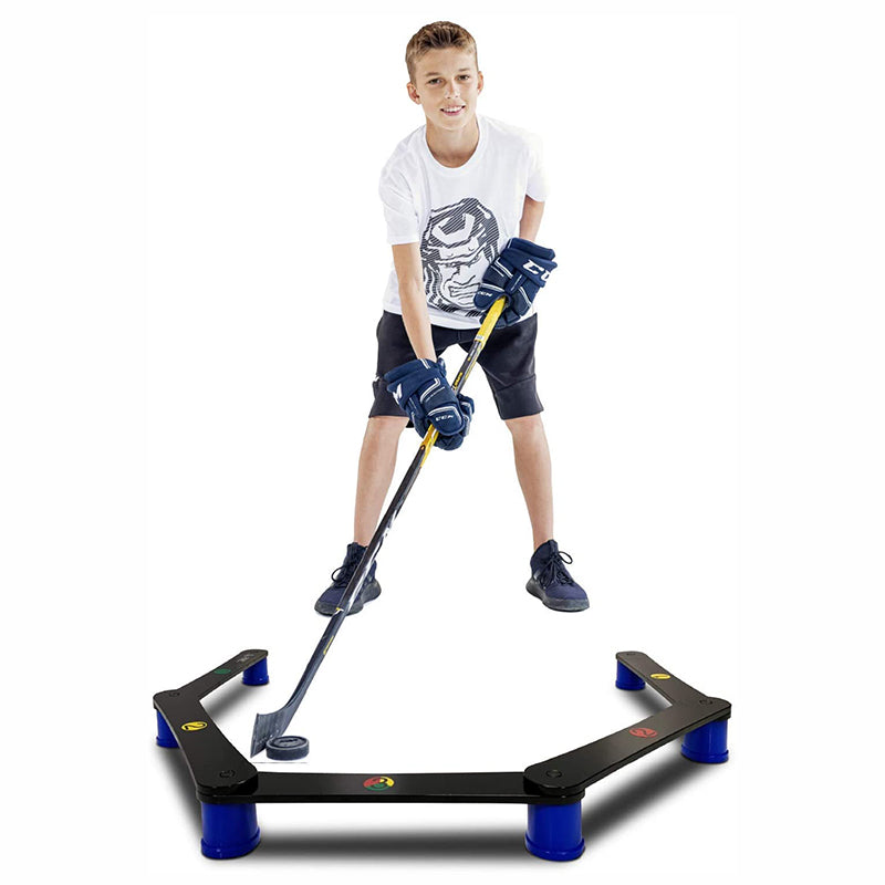 Lightweight Stickhandling Training Aid, Equipment for Puck Control, Reaction Time & Coordination - MY ENEMY