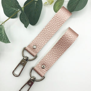 Faux Leather Keyring's