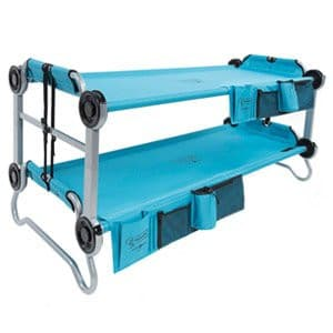 Kid-O-Bunk with Organisers (Teal Blue) | Disc-O-Bed Australia.