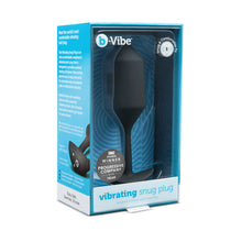 Load image into Gallery viewer, B-Vibe Snug Plug Vibrating XL - Black