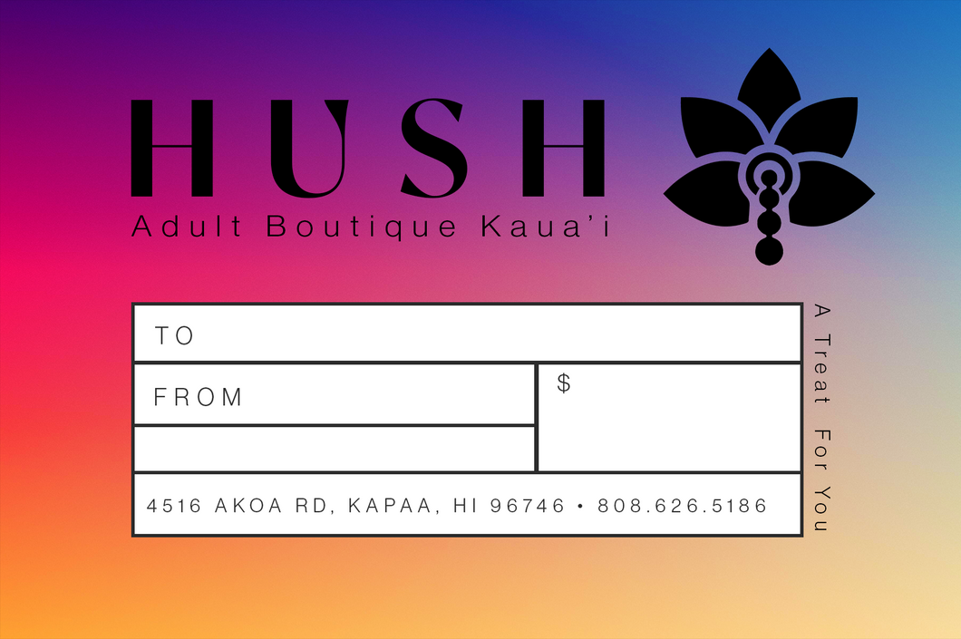 A Sexy Gift – Hush Adult Boutique