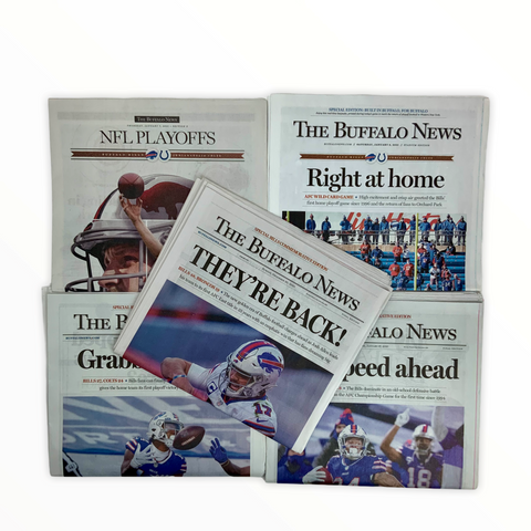 5 Pack Buffalo Playoff Season AFC Championship Editions