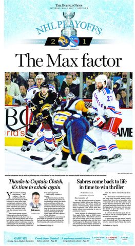 The Max Factor - May 5, 2007 Sports Page Poster