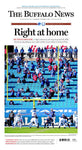 """Right at Home"" - Stadium Edition Front-Page Poster"