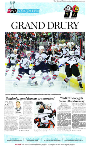 Grand Drury - May 6, 2006 Sports page poster
