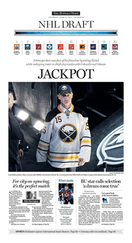 Jackpot - June 27, 2018 Sports page poster