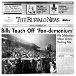 The Buffalo News Front Page - Monday, November 21, 1988