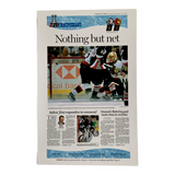 Nothing but net - May 11, 2006 Sports Page Poster