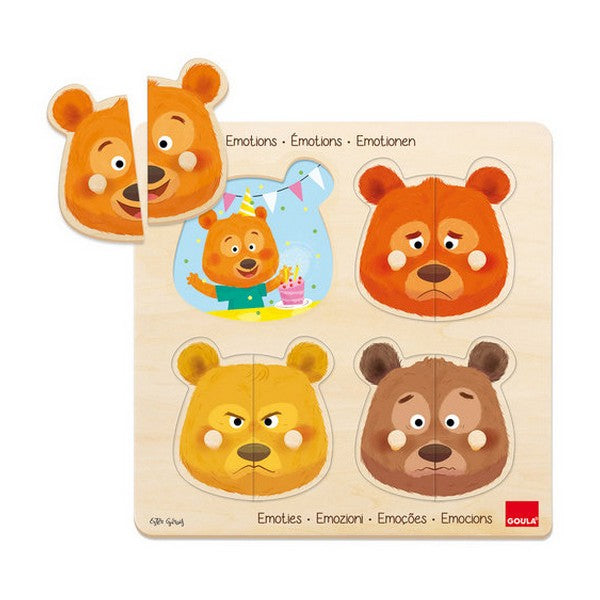 Puzzle Emotions Diset (2+ anni) - SPOTOSHOP
