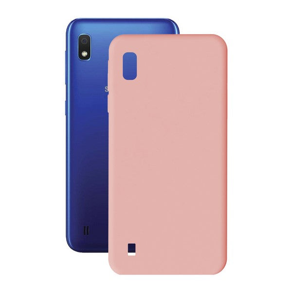 Custodia per Cellulare Samsung Galaxy A10 KSIX Soft Cover TPU - SPOTOSHOP