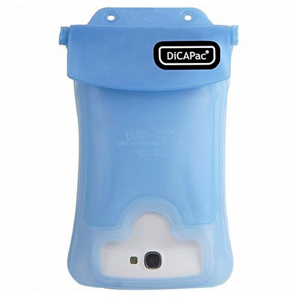 "Custodia DICAPac WP-C2 5.7"" Waterproof Azzurro - SPOTOSHOP"