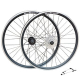 "QR 27.5"" 650b (ETRTO 584x19) MTB Mountain Bike Front Rear Wheel Set 7/8/9/10 Speed"