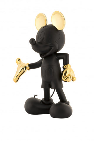 Sculpture Mickey Welcome 30cm Figurine Black & Gold LeblonDelienne - Play Offside