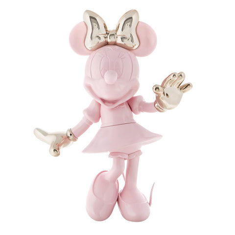 Sculpture Minnie Welcome 30cm Figurine Pink & Silver LeblonDelienne - Play Offside