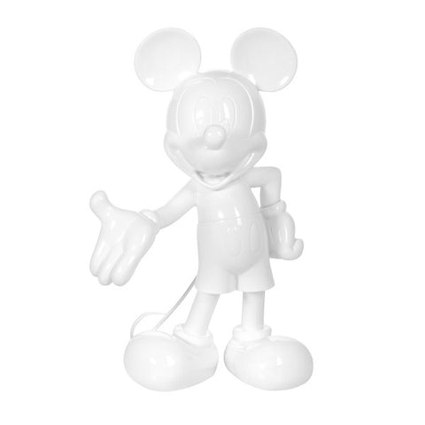 Sculpture Mickey Welcome 30cm Figurine Lacquered White LeblonDelienne - Play Offside