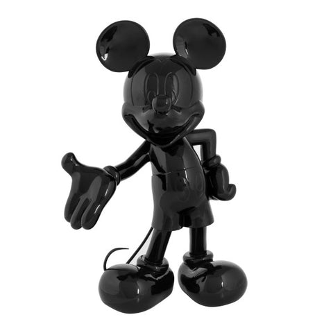 Sculpture Mickey Welcome 30cm Figurine Lacquered Black LeblonDelienne - Play Offside