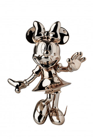 Sculpture Minnie Welcome 30cm Figurine Chrome/Copper LeblonDelienne - Play Offside