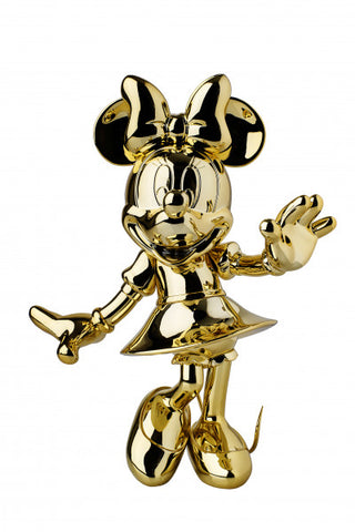 Sculpture Minnie Welcome 30cm Figurine Gold LeblonDelienne - Play Offside