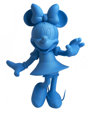 Sculpture Minnie Welcome 30cm Figurine Fluo Blue LeblonDelienne - Play Offside