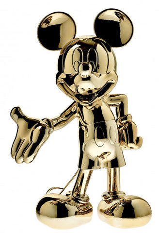Sculpture Mickey Welcome 30cm Figurine Gold LeblonDelienne - Play Offside