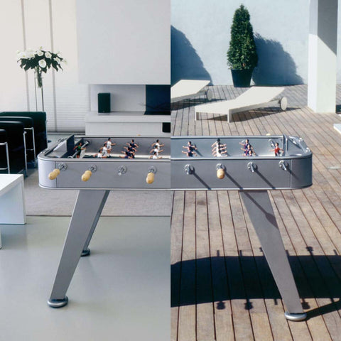 Football Table RS2 Luxury Metal Design Outdoor Football Table RS Barcelona - Play Offside