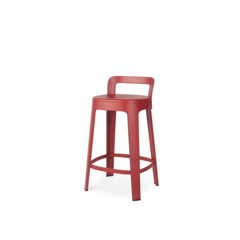 Stool Ombra Stool Medium With backrest / Red RS Barcelona - Play Offside