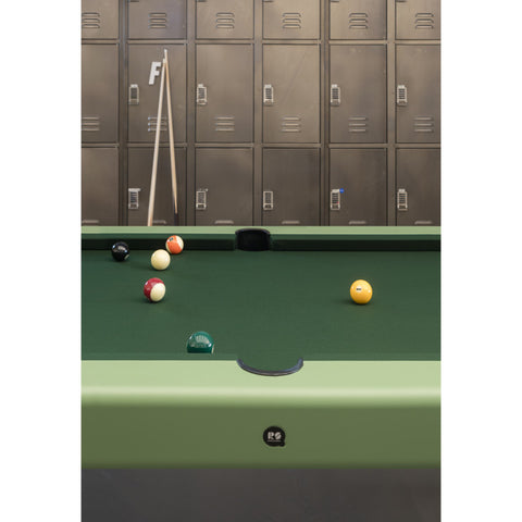 "Pool Table Diagonal Design Indoor Pool Table 8"" RS Barcelona - Play Offside"