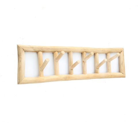 Hanging Rack TeakWood Hanging Rack Bazar Bizar - Play Offside