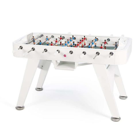 Football Table RS2 Luxury Metal Design Outdoor Football Table White RS Barcelona - Play Offside