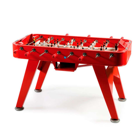 Football Table RS2 Luxury Metal Design Outdoor Football Table Red RS Barcelona - Play Offside