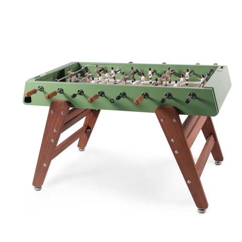 Football Table RS3 Wood Design Football Table Green RS Barcelona - Play Offside