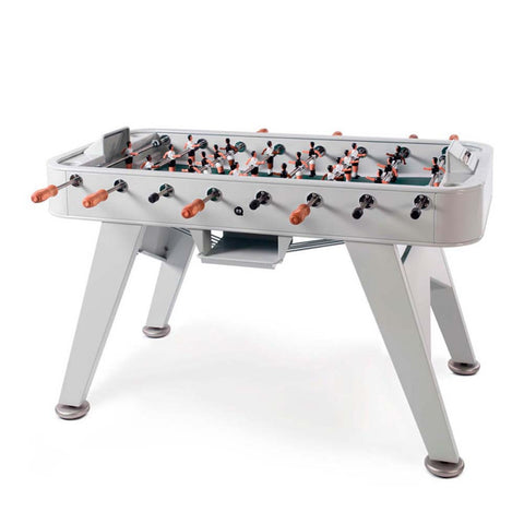 Football Table RS2 Luxury Metal Design Outdoor Football Table Grey (indoor ) RS Barcelona - Play Offside