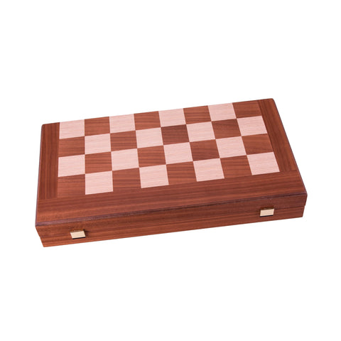Chess & Backgammon Combo 3 in 1 Chess, Backgammon and Checkers Set Manopoulos - Play Offside
