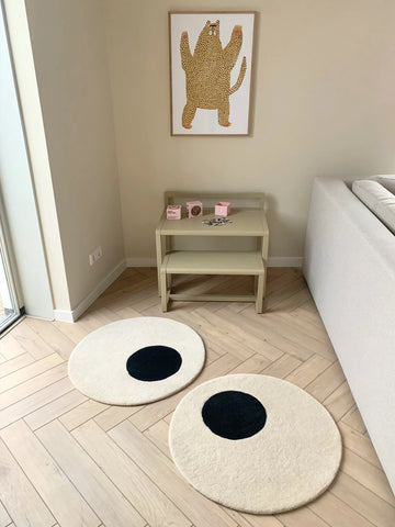 Child Rug Eyes Rug Child Baby Room Rug Design Maison Deux - Play Offside