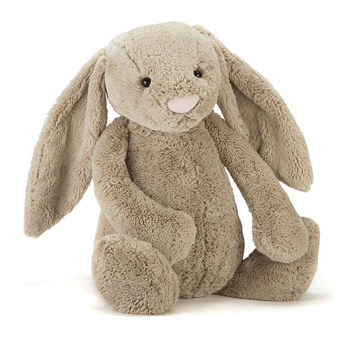 Teddybear Bashful Beige Official Bunny Teddybear Suitable from Birth XXL Jellycat - Play Offside