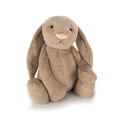Teddybear Bashful Beige Official Bunny Teddybear Suitable from Birth XXXL Jellycat - Play Offside