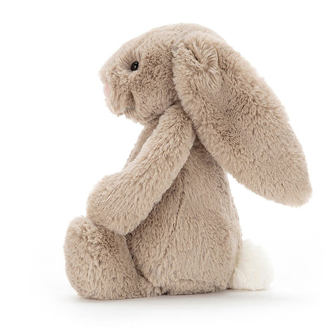 Teddybear Bashful Beige Official Bunny Teddybear Suitable from Birth Jellycat - Play Offside