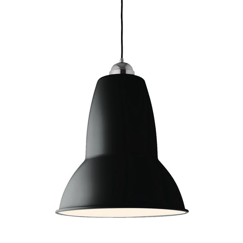 Hanging Lamp Anglepoise Original 1227 Giant Pendant Available in 7 Colours Jet Black Matt Finish Anglepoise - Play Offside