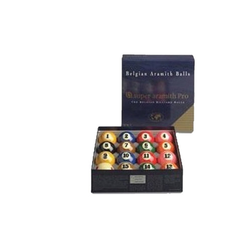 Billiard Balls American Aramith Pro TV Pool Table Billiard Ball Set Rene Pierre - Play Offside
