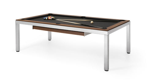 Pool Table Cube7 Pool Table Dark Wood Fas Pendezza - Play Offside