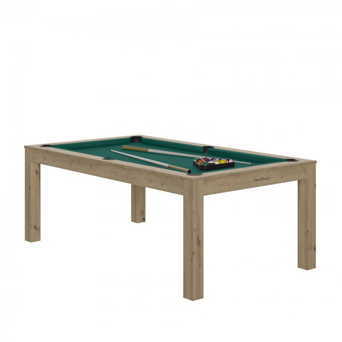 Pool Table Charme Pool Table Oak sanded / Green / WithTop Rene Pierre - Play Offside