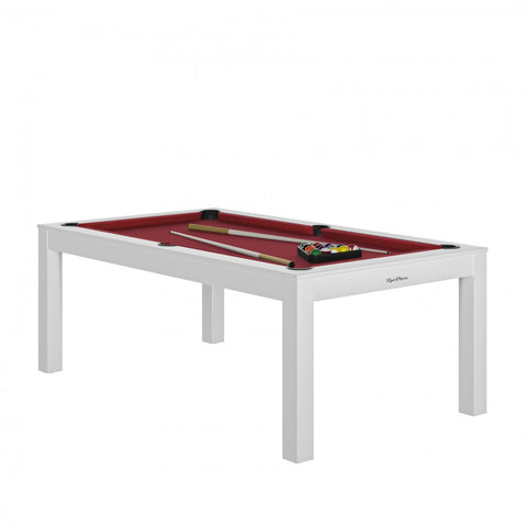 Pool Table Charme Pool Table White / Red / WithTop Rene Pierre - Play Offside
