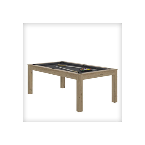 Pool Table Charme Pool Table Oak sanded / Grey / WithTop Rene Pierre - Play Offside