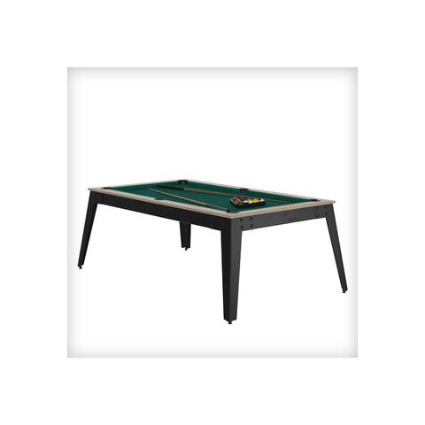 Pool Table Steel Pool Table Oslo / grey / Green Cloth / With Top Rene Pierre - Play Offside