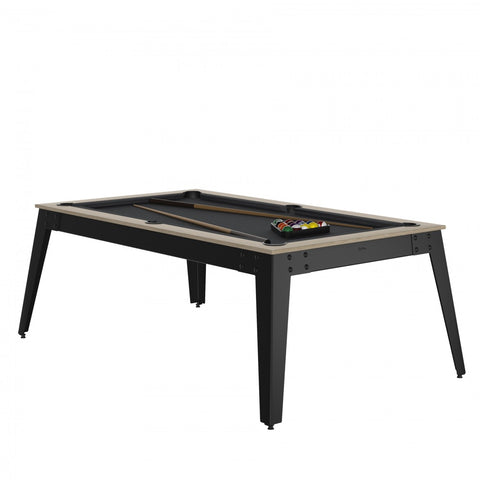 Pool Table Steel Pool Table Oslo / grey / Grey Cloth / With Top Rene Pierre - Play Offside