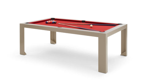 Pool Table Cubista Pool Table Dove Grey Fas Pendezza - Play Offside