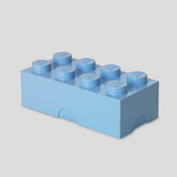 Child Storage Box Giant LEGO Storage Brick 8 Available in 2 Colours Light Blue Room Copenhagen - Play Offside