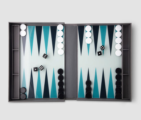 Backgammon Contemporary Design Backgammon PrintWorksMarket - Play Offside