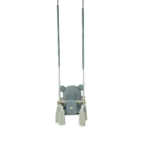 Child Swing Beautiful Child Swing for Interior Child Room Design from 9 months plus Grey Misioo - Play Offside